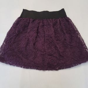 Stooshy Lace Lined Skirt in S